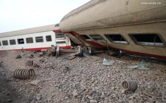 Tàu trật đường ray ở Ai Cập, 11 người thiệt mạng và 98 người bị thương