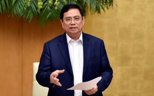 Thủ tướng Phạm Minh Chính làm việc với Ngân hàng Nhà nước Việt Nam