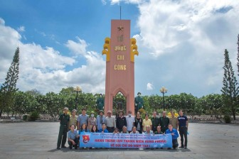 """""""Hành trình cựu thanh niên xung phong về cột mốc biên giới"""" nhân kỷ niệm 71 năm ngày Truyền thống lực lượng thanh niên xung phong Việt Nam"""