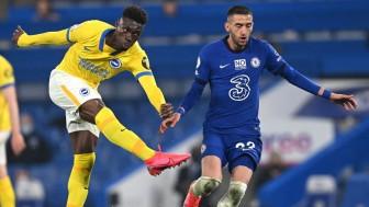 Thi đấu dưới phong độ, Chelsea hòa Brighton 0-0