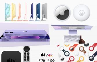 'Điểm danh' những sản phẩm Apple đã giới thiệu vào rạng sáng 21-4