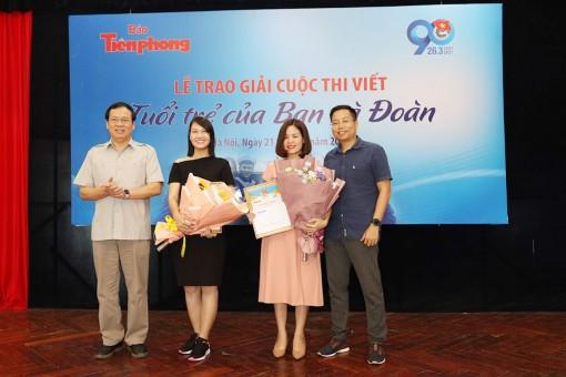 """Báo An Giang có 2 tác phẩm đoạt giải B cuộc thi viết """"Tuổi trẻ của bạn và đoàn"""""""