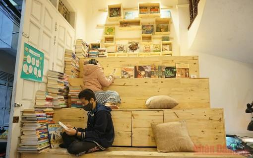 Thư viện sách miễn phí giữa lòng thủ đô