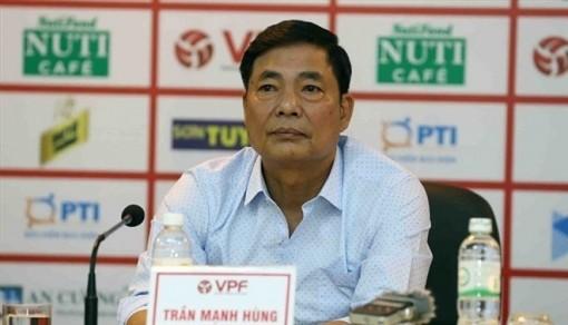 Ông Trần Mạnh Hùng thôi chức Chủ tịch CLB bóng đá Hải Phòng