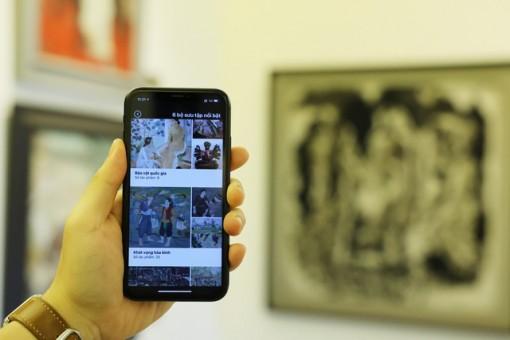 Ứng dụng di động hỗ trợ du khách tham quan Bảo tàng Mỹ thuật