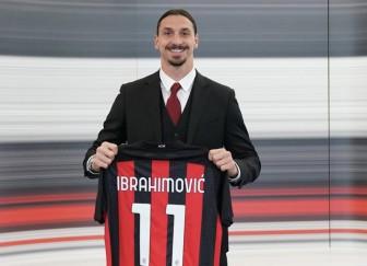 Ibrahimovic ký gia hạn với Milan đến năm 40 tuổi