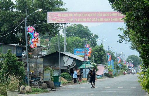 Liên đoàn Lao động huyện Tri Tôn nghiệm thu công trình thi đua năm 2021