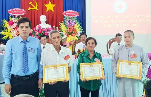 Đại hội Hội Chữ thập đỏ thị trấn Nhà Bàng (nhiệm kỳ 2021-2026)