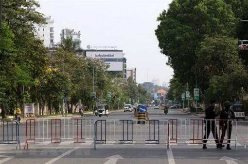 Gần 9.000 ca nhiễm COVID-19, Campuchia tăng kiểm soát phong tỏa