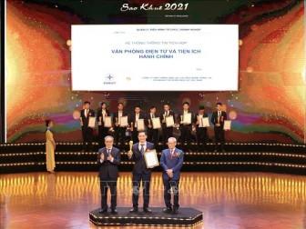 Giải thưởng Sao Khuê 2021 vinh danh 180 giải pháp, sản phẩm dịch vụ công nghệ thông tin