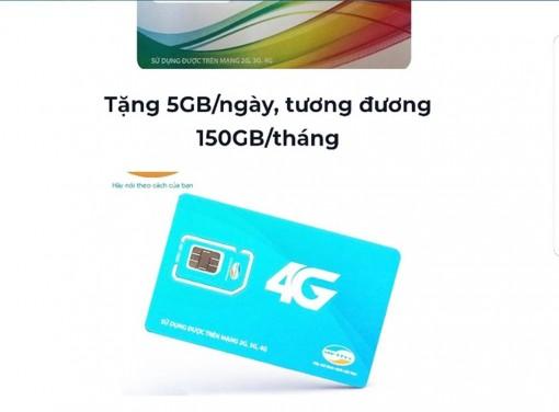 """Lừa bán sim 4G giá """"siêu rẻ"""""""