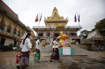 Campuchia ghi nhận số ca mắc COVID-19 trong ngày ở mức cao nhất