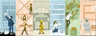 Ngày Quốc tế Lao động 1-5: Goolge thay giao diện kỷ niệm 135 năm