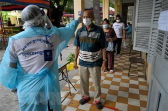 Số ca nhiễm virus SARS-CoV-2 tại Campuchia tiếp tục tăng mạnh
