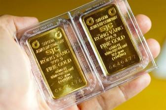 Giá vàng hôm nay 3-5 tiếp tục giảm