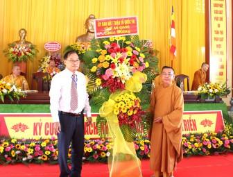 Đại hội đại biểu Phật giáo huyện Thoại Sơn lần thứ VII