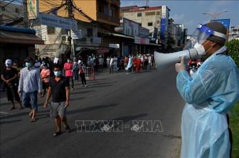 Campuchia đẩy nhanh tiến độ tiêm vaccine tại 'Khu vực Đỏ'