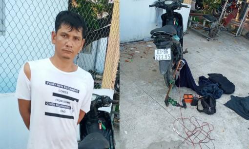 Tiền Giang: Bắt giữ 1 đối tượng trộm chó