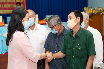 Ứng cử đại biểu Quốc hội và đại biểu HĐND tỉnh gặp gỡ, tiếp xúc giữa cử tri huyện Châu Thành