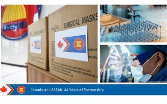 Canada hỗ trợ ASEAN ứng phó với đại dịch Covid-19