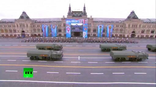Nga phô diễn dàn vũ khí hùng mạnh trong lễ duyệt binh Ngày chiến thắng phát xít
