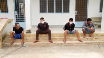 Phát hiện 8 đối tượng sử dụng trái phép chất ma túy ở Tri Tôn