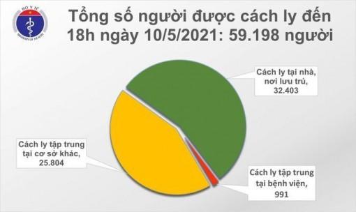 Thêm 17 ca mắc mới COVID-19, trong đó 16 ca lây lan trong cộng đồng