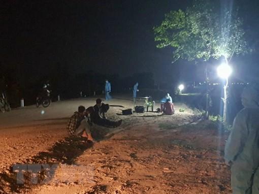 Tây Ninh: Bắt giữ, đưa đi cách ly 5 trường hợp nhập cảnh trái phép
