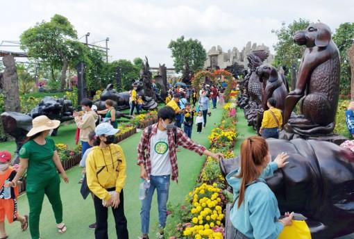 Tạm dừng các hoạt động tổ chức và đón khách tham quan trong Khu Du lịch sinh thái Mỹ Luông từ 00 giờ, ngày 12-5-2021