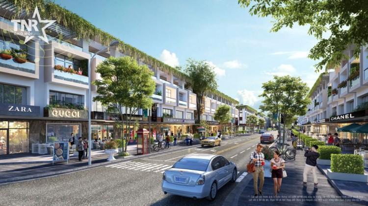 Đô thị thương mại kiểu mẫu giúp tái định vị thị trường bất động sản Chợ Mới