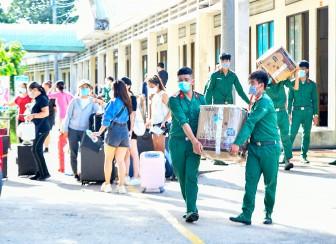 An Giang hoàn thành cách ly tập trung 105 công dân