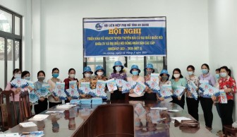 Hội Liên hiệp Phụ nữ tỉnh An Giang triển khai kế hoạch tuyên truyền bầu cử tại huyện Châu Phú