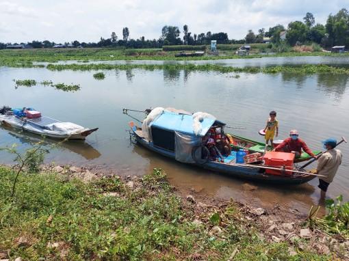 An Giang: Ngăn chặn kịp thời 9 người nhập cảnh trái phép từ Campuchia về Việt Nam qua sông Hậu