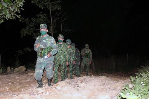 Bộ đội biên phòng bắt giữ 62 trường hợp nhập cảnh trái phép