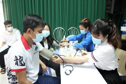 Bệnh viện Sản-Nhi An Giang tổ chức hiến máu tình nguyện đợt 1 năm 2021