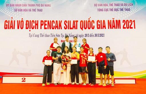 Pencak silat An Giang phát triển phong trào lẫn thành tích cao