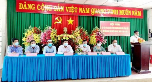 Ứng cử viên HĐND huyện An Phú tiếp xúc cử tri xã Đa Phước