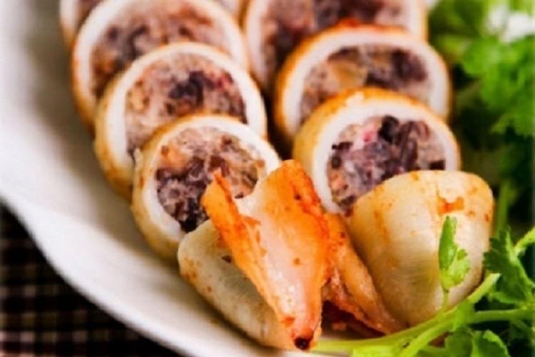 Món ngon mỗi ngày: Mực nhồi thịt chiên giòn