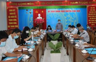 Chợ Mới triển khai công tác phòng, chống dịch bệnh COVID-19 trong công tác bầu cử