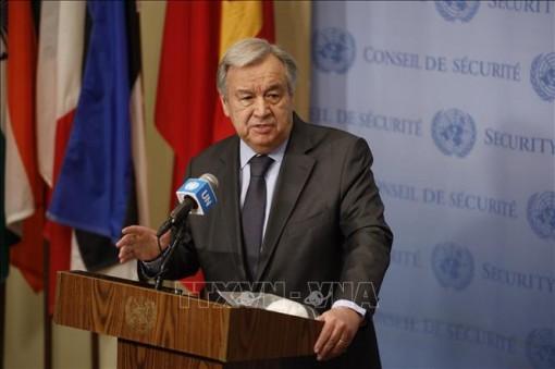 Tổng Thư ký LHQ kêu gọi chấm dứt căng thẳng giữa Israel và Palestine