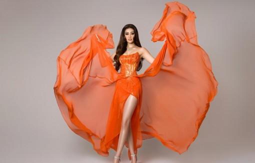 Bán kết Miss Universe: Trang phục dạ hội ấn tượng của Khánh Vân
