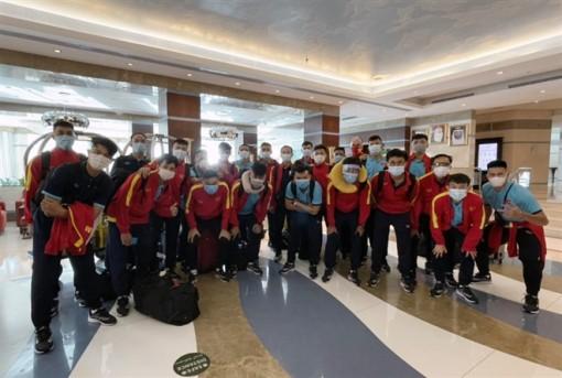 Tuyển futsal Việt Nam tới UAE, sẵn sàng tranh vé dự World Cup 2021