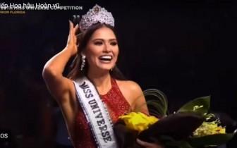 Đại diện Mexico đăng quang Hoa hậu Hoàn vũ