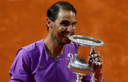 Hạ bệ Djokovic, Nadal hoàn tất 'cú Decima' tại Rome Masters
