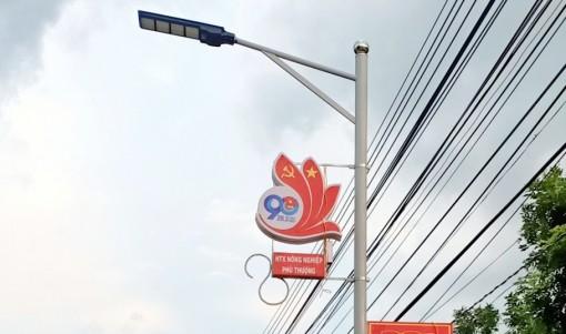 Huyện đoàn Phú Tân thực hiện công trình chào mừng ngày bầu cử