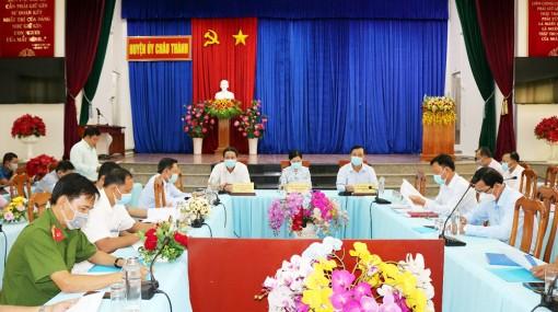 Châu Thành đảm bảo công tác bầu cử đại biểu Quốc hội khóa XV và đại biểu HĐND các cấp, nhiệm kỳ 2021-2026 diễn ra thành công, an toàn