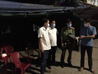 An Giang tổ chức kiểm soát, chốt chặn người, phương tiện ngoài tỉnh vào địa bàn