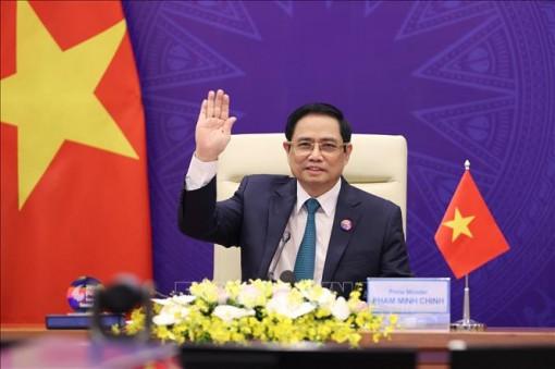 Phát biểu của Thủ tướng tại Diễn đàn cấp cao Đối tác vì Tăng trưởng xanh và Mục tiêu toàn cầu 2030