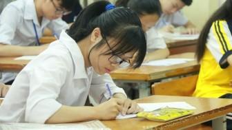 Sở GD-ĐT Hà Nội muốn giảm thời gian làm bài thi 4 môn vào lớp 10