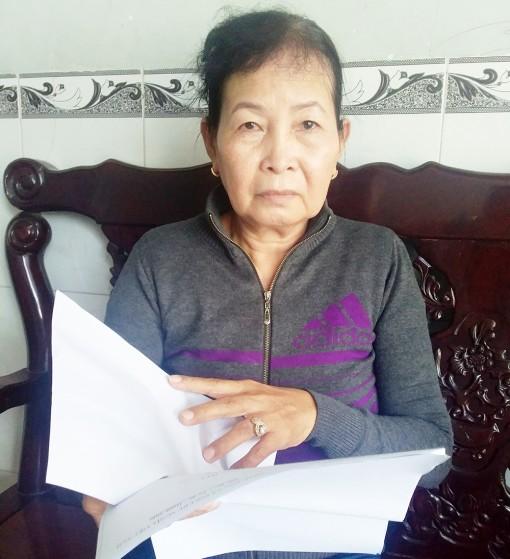 Trả lời phản ánh của bà Nguyễn Thị Nãi